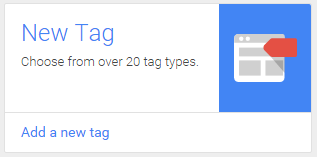 Google Tag Manager: add new tag