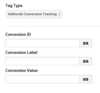 Google Ads (AdWords) conversion tag in 2014